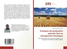 Capa do livro de Pratiques de production agricole face au changement climatique