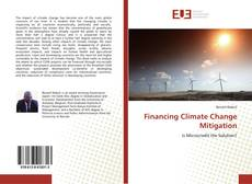 Bookcover of Financing Climate Change Mitigation