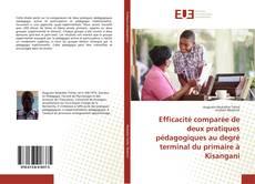 Couverture de Efficacité comparée de deux pratiques pédagogiques au degré terminal du primaire à Kisangani