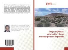 Capa do livro de Projet (H)ALFA : valorisation d'une bioénergie sous-exploitée
