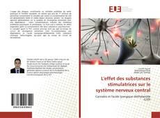 Buchcover von L'effet des substances stimulatrices sur le système nerveux central