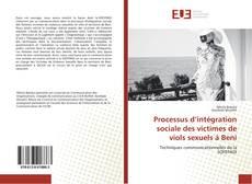 Borítókép a  Processus d'intégration sociale des victimes de viols sexuels à Beni - hoz