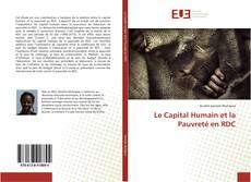 Bookcover of Le Capital Humain et la Pauvreté en RDC