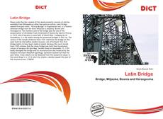 Couverture de Latin Bridge