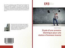 Bookcover of Étude d'une armoire électrique pour une station d'osmose inverse