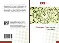 Обложка Apport de l'hypnose en anesthésie