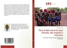 Bookcover of Poro et Bois sacré en pays sénoufo, des origines à nos jours