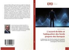Capa do livro de L'accord de Bâle et l'adéquation des fonds propres des banques
