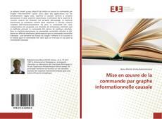 Mise en œuvre de la commande par graphe informationnelle causale kitap kapağı
