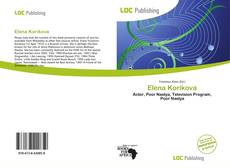 Bookcover of Elena Korikova