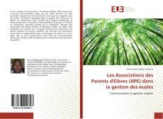 Обложка Les Associations des Parents d'Elèves (APE) dans la gestion des écoles