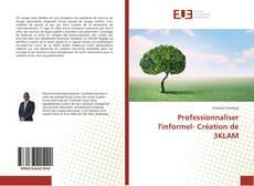 Professionnaliser l'informel- Création de 3KLAM kitap kapağı