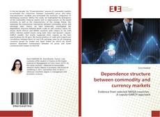 Couverture de Dependence structure between commodity and currency markets