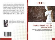 Peintres Grecs à Paris du XIXème siècle kitap kapağı