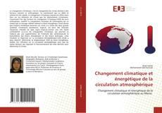 Capa do livro de Changement climatique et énergétique de la circulation atmosphérique