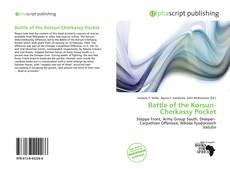 Bookcover of Battle of the Korsun-Cherkassy Pocket