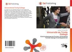 Bookcover of Université de Trinity College