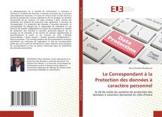Capa do livro de Le Correspondant à la Protection des données à caractère personnel