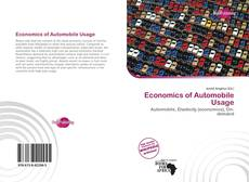 Capa do livro de Economics of Automobile Usage