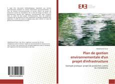 Buchcover von Plan de gestion environnementale d'un projet d'infrastructure
