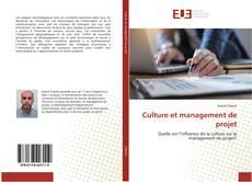 Couverture de Culture et management de projet