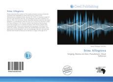 Bookcover of Irina Allegrova