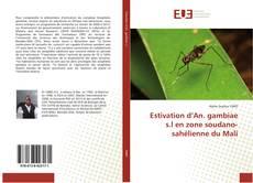 Buchcover von Estivation d'An. gambiae s.l en zone soudano-sahélienne du Mali