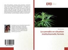 Buchcover von Le cannabis en situation institutionnelle fermée