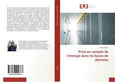 Prise en compte de l'énergie dans les bases de données kitap kapağı