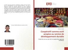 Bookcover of Coopératif comme outil propice au service de développement durable