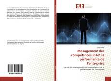 Capa do livro de Management des compétences RH et la performance de l'entreprise