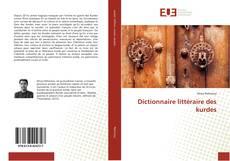 Portada del libro de Dictionnaire littéraire des kurdes