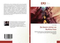 Bookcover of Du boom minier au Burkina Faso