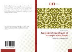 Portada del libro de Typologies linguistiques et stratégies didactiques