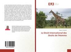 Copertina di Le Droit International des Droits de l'Homme