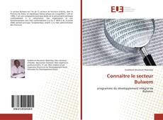 Обложка Connaître le secteur Bulwem