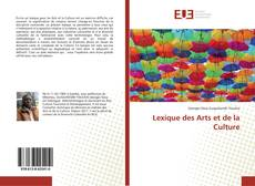 Bookcover of Lexique des Arts et de la Culture