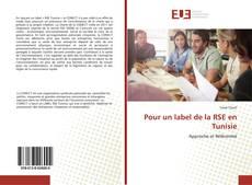 Bookcover of Pour un label de la RSE en Tunisie