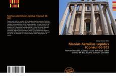Bookcover of Manius Aemilius Lepidus (Consul 66 BC)