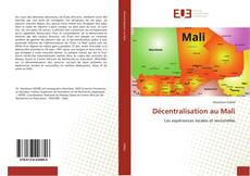 Portada del libro de Décentralisation au Mali