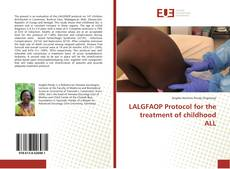 Обложка LALGFAOP Protocol for the treatment of childhood ALL