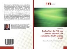 Evaluation de l'Hb par l'HemoCue® Hb 301 comparé à l'ABX Micros ES60 kitap kapağı