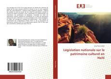 Législation nationale sur le patrimoine culturel en Haïti的封面