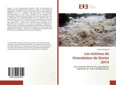 Les victimes de l'inondation de février 2014 kitap kapağı