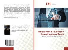 Introduction à l'évaluation des politiques publiques的封面