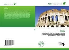 Atilia kitap kapağı