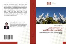 Обложка Le dilemme de la prolifération nucléaire
