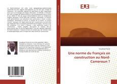 Couverture de Une norme du français en construction au Nord-Cameroun ?