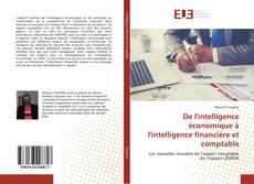 Buchcover von De l'intelligence économique à l'intelligence financière et comptable