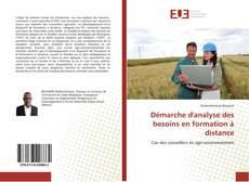Couverture de Démarche d'analyse des besoins en formation à distance